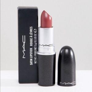 MAC Cosmetics satin lipstick Twig